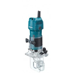 Makita 3710 - Fresadora de cantos 6mm base inclinable