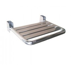 Mediclinics AM0201C - Asiento abatible Acero inox AISI 304 Brillante