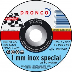 Dronco - Disco de corte AS 60 T INOX Special Express