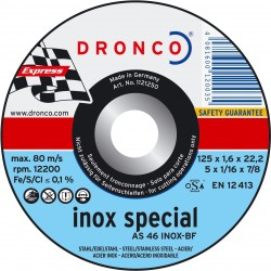 Dronco - Disco de corte AS 46 T INOX Special Express