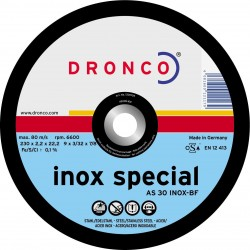 Dronco - Disco de corte AS 30 T INOX Special