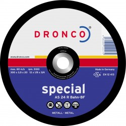 Dronco - Disco de corte AS 24 R BAHN Special