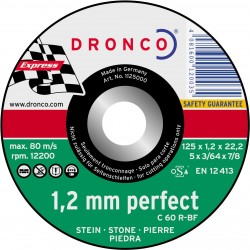 Dronco - Disco de corte C 60/C 46 R Perfect Express