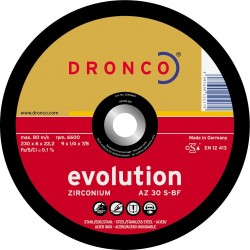 Dronco - Disco de corte AZ 30 S Evolution-metal