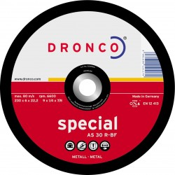 Dronco - Disco de corte AS 30 R Special-metal