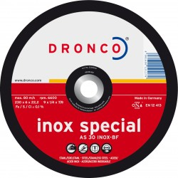 Dronco - Disco de corte AS 30 INOX Special-metal
