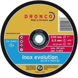 Dronco - Disco de corte AS 30 V INOX Evolution