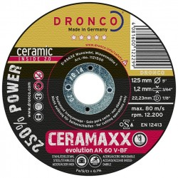 Dronco - Disco de corte AK 60 V Evolution CERAMAXX