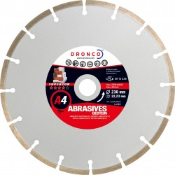 Dronco - Disco de diamante Superior A4 - Materiales abrasivos (Antes LT76)
