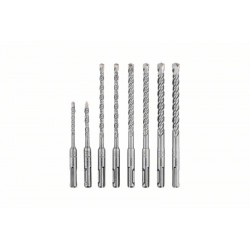 Bosch 260925C090 - Set de 8 brocas para martillo SDS plus